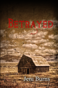 Betrayed full cover copy with blurb and no spine resized title